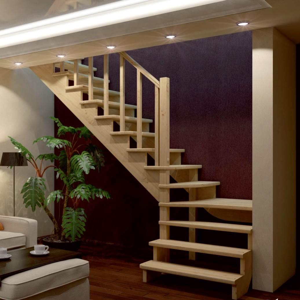 Сухая строганная доска для лестницы